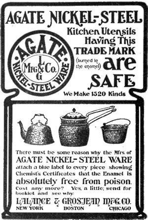 enamelware vintage porcelain  enamel kitchenware graniteware agateware speckleware timeline