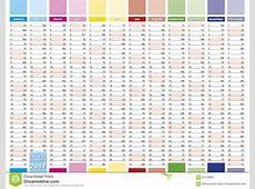2017 Planning Calendar Calendar Template 2018