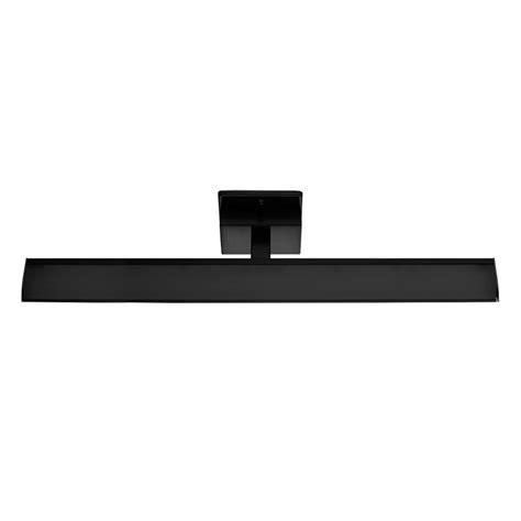 eglo tabiano matte black led bathroom light
