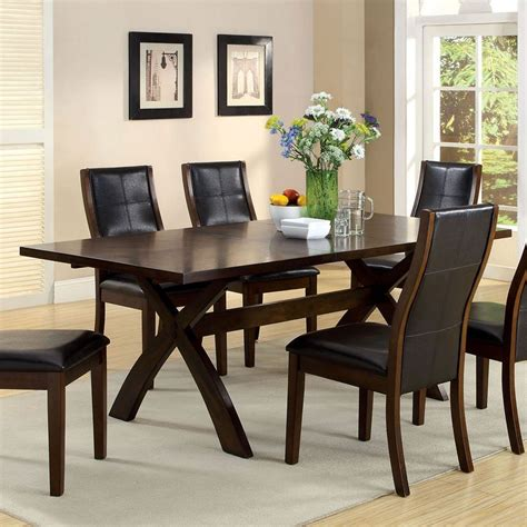 Toronto Dining Table Furniture Of America  Furniture Cart