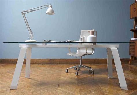 bureau table verre bureaux droit en verre tous les fournisseurs bureau