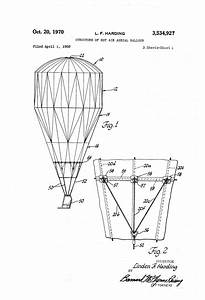 Patent Us3534927 - Structure Of Hot Air Aerial Balloon