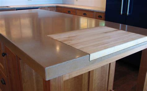 examples  concrete countertops   designcast