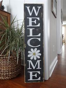 Welcome, Sign, Welcome, Wood, Sign, Welcome, Front, Door, Sign