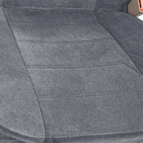 Velour Upholstery Fabric by Seat Covers Front Pair 4pc Gray Encore Velour Fabric Auto