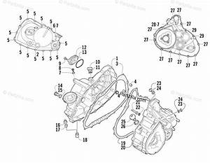 Arctic Cat Atv 2007 Oem Parts Diagram For Crankcase  Cover