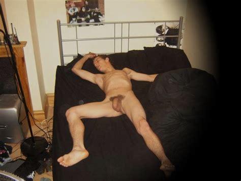 Sleeping Naked Guys Caught On Spycam