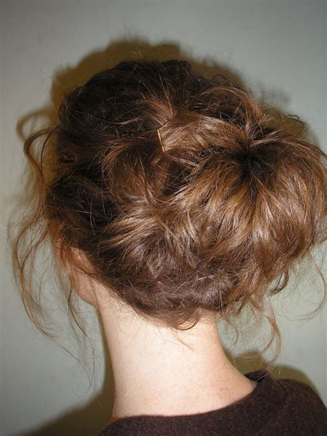easy updo  short hair women hairstyles