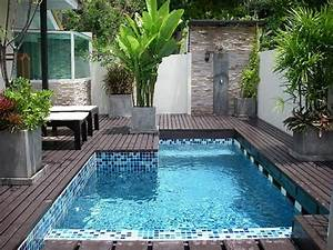 14 piscinas pequeñas de obra. Ideas de piscinas para ...