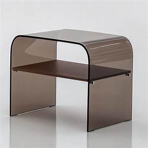 Table De Chevet Verre : anemone 6829 table basse table de chevet tonin casa en verre disponible en diff rentes ~ Teatrodelosmanantiales.com Idées de Décoration