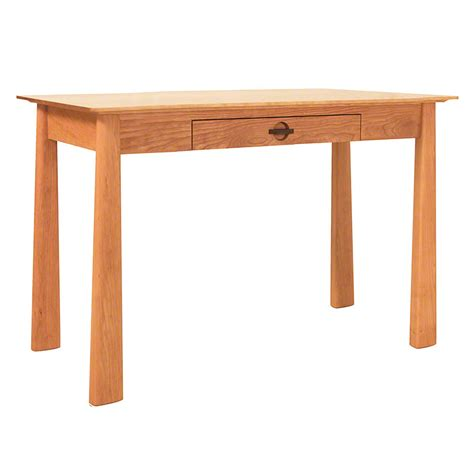 wood writing desk cherry wood writing desk with drawer solid wood usa made