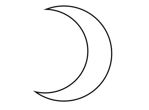 Simple Crescent Moon Tattoos