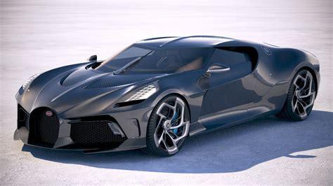 3D model Bugatti La Voiture Noire 2019 | CGTrader