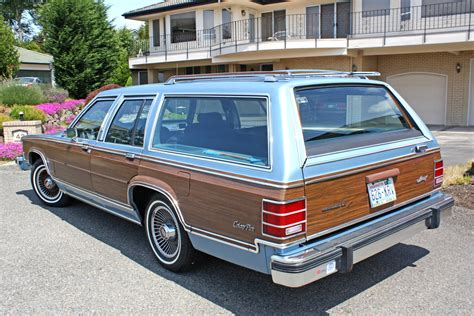 The 1983 Colony Park Wagon