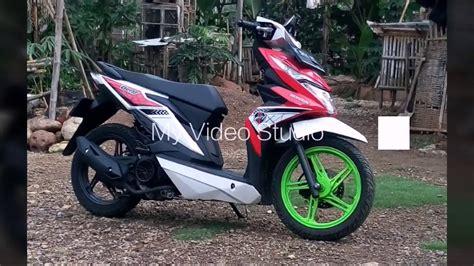 Modifikasi Standart Honda Beat Fi Babylook Style 2017