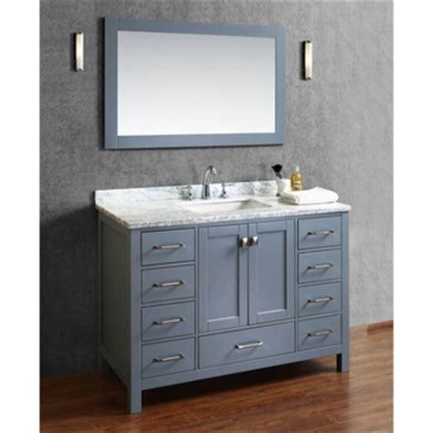 Mesa 48 Inch Sink Bathroom Vanity by Buy Vincent 48 Inch Solid Wood Single Bathroom Vanity In