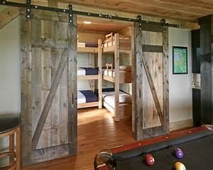 bedroom design ideas with barn door home design garden With barn doors for inside your house