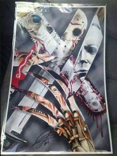 horror collage images  pinterest horror films
