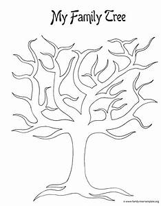 picture of family tree template - 7 best images of family tree outline printable printable
