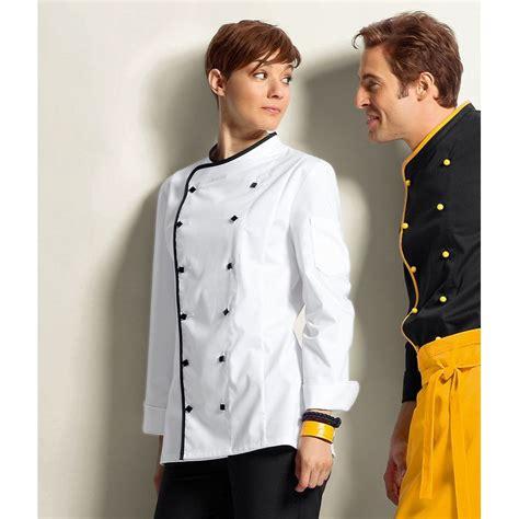 veste de chambre femme veste cuisine femme avec liseré comfortech stretch peut