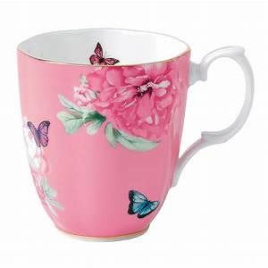 Mug à Thé : miranda kerr for royal albert friendship mug pink royal albert australia ~ Teatrodelosmanantiales.com Idées de Décoration