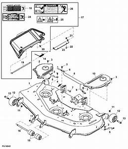 John Deere X500 Parts Diagram
