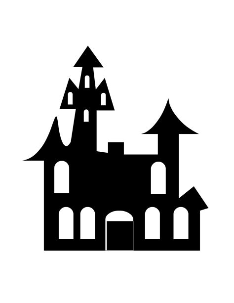 clipart house silhouette   cliparts