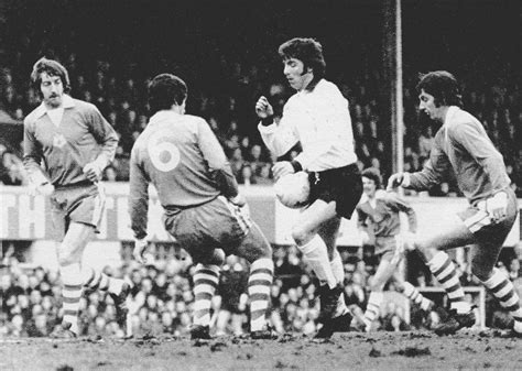 2nd February 1974. Derby County striker Kevin Hector ...