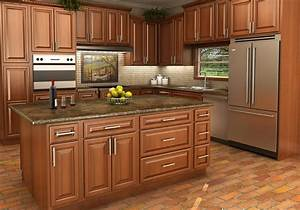 Buy Spice Maple RTA (Ready to Assemble) Kitchen Cabinets