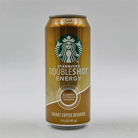 Double shot of espresso with steamed milk. 12/15oz Starbucks Double Shot Energy Coffee - Abe Wholesale