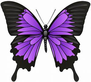 Purple Butterflies Clipart | Free download on ClipArtMag