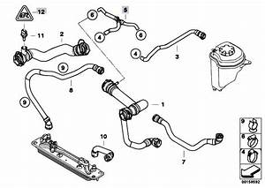 Original Parts For E70 X5 4 8i N62n Sav    Radiator   Cooling System Water Hoses