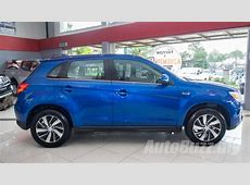 Gallery Sporty Blue Mitsubishi ASX 20, inside and out