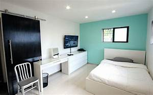Welche Wandfarbe Schlafzimmer : wandfarbe t rkis 42 tolle bilder ~ Markanthonyermac.com Haus und Dekorationen