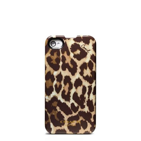 coach phone cases coach ocelot iphone 4 from coach