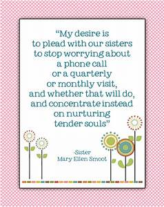 Sisters of the ... Mary Ward Nun Quotes