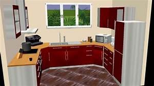 Poignée Meuble Cuisine Brico Depot : meuble angle cuisine brico depot youtube ~ Mglfilm.com Idées de Décoration