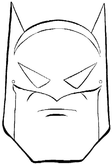 Batman Outline Head | Art | Pinterest | Coloring, For kids