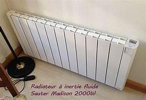 Radiateur Electrique A Inertie 2000w : votre avis sur le sauter madison ~ Melissatoandfro.com Idées de Décoration
