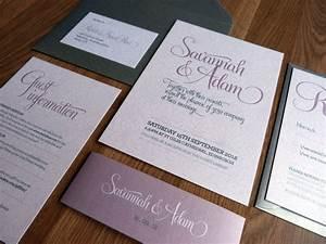 wedding invitation suite bliss wedding range on luulla With wedding invitations suites uk