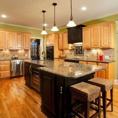 two tone kitchen cabinets oak and two tone kitchen cabinets oak cabinets 6435
