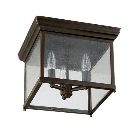 capital lighting 9546ob bronze 3 light outdoor flush