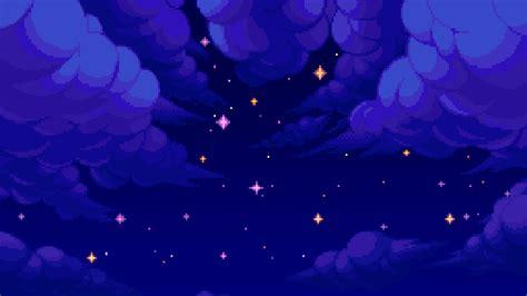 light blue anime aesthetic background