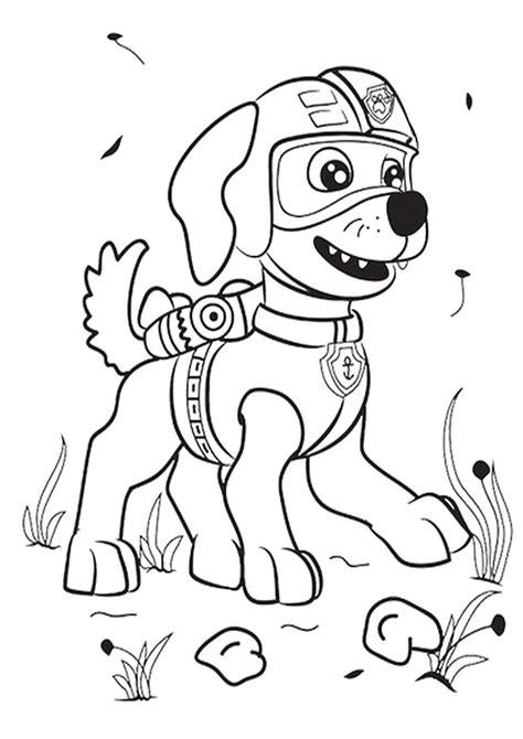 kolorowanka psi patrol malowanka nr 9