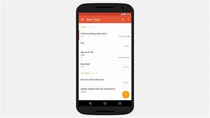 Todoist Android Themes Material Creation Chega Ao