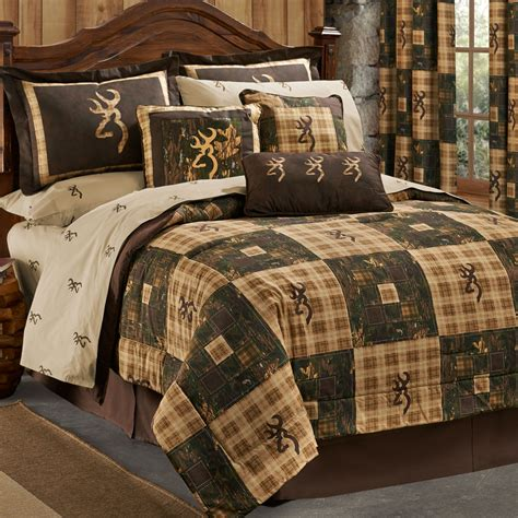 browning country bedding collection