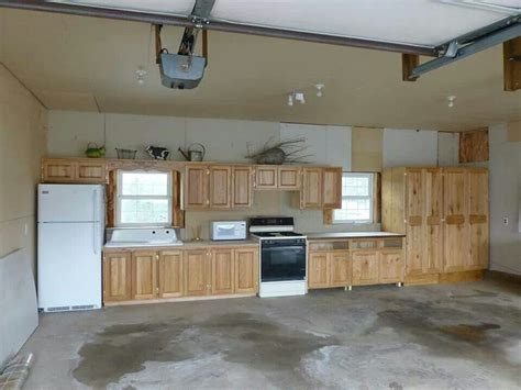 Garage Cabinets In Kitchen by Canning Kitchen In The Garage House In 2019