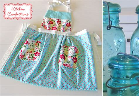 Girly Kitchen Aprons by 15 Diy Apron Patterns For Keeping Clean In The Kitchen