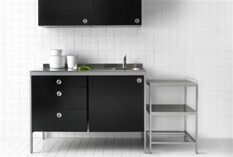 Ikea Modulküchen Wie Z. B. Udden Wandschrank In Schwarz