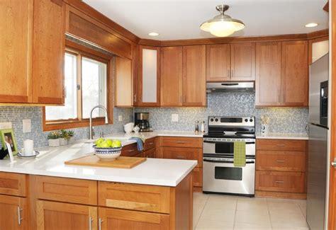 Blue & White Modern Country Kitchen  Modern Kitchen